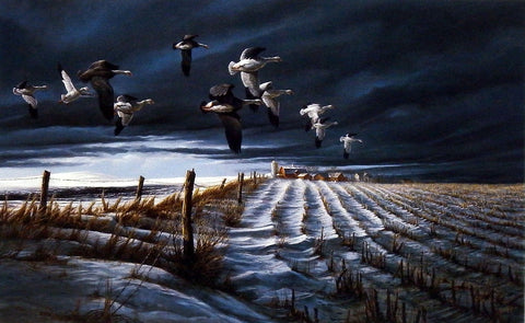 Terry Redlin Winter Snows
