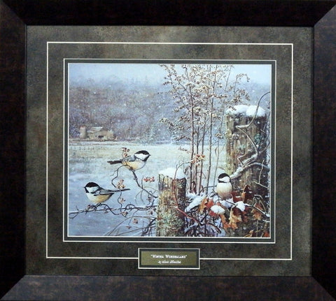 Scott Zoellick Winter Wonderland- Framed