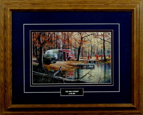 Ken Zylla The Deer Hunters-Framed