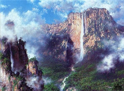Larry Dyke A Lost World - Angel Falls