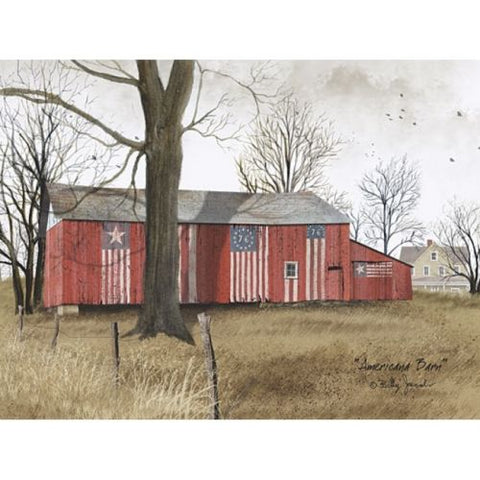 Billy Jacobs Americana Barn Country Art Print 16 x 12