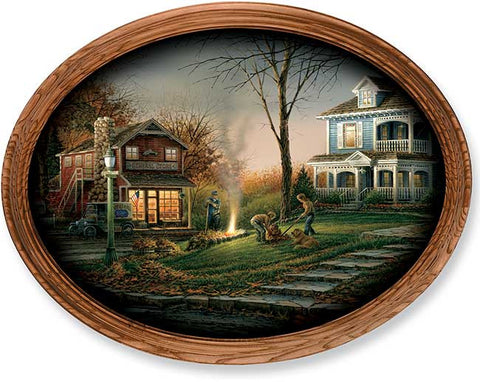 Terry Redlin Aroma of Fall -Master Stroke Oval-FREE SHIPPING
