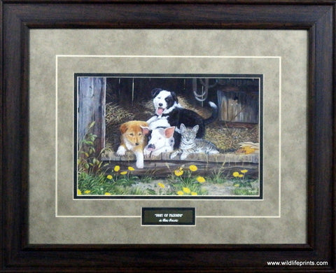 Terry Doughty Best of Friends-Framed