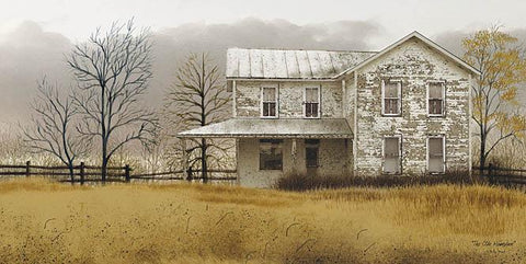 Billy Jacobs Old Homeplace  Farm and Country Art Print 18 x 9