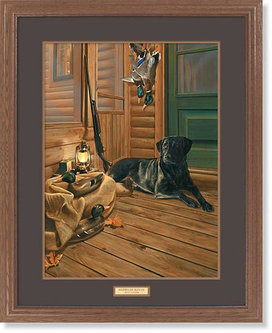 Scot Storm Bountiful Day-Black Lab-Print