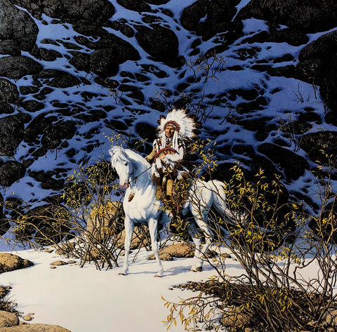 Bev Doolittle Eagle Heart S/N Art Print