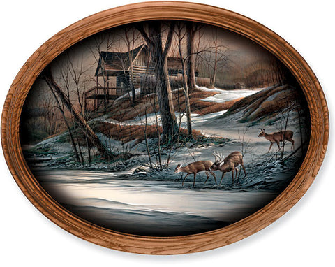 Terry Redlin Changing Seasons Winter-FREE SHIPPING