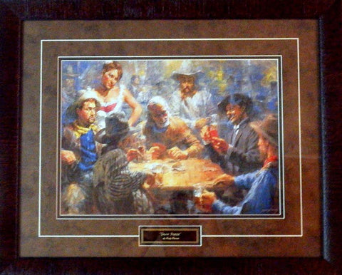 Andy Thomas Draw Poker-Framed