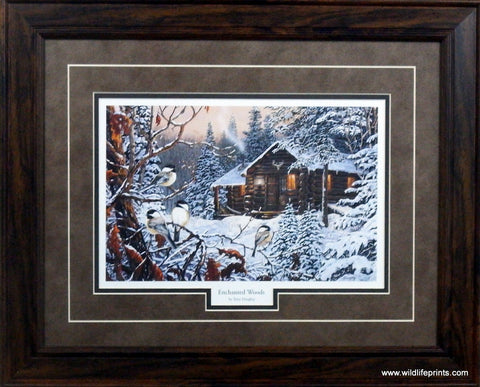 Terry Doughty Enchanted Woods- Framed