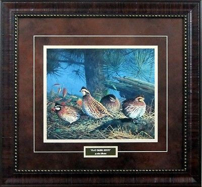 Flat Creek Covey Grouse  Framed Print by Scott Zoellick