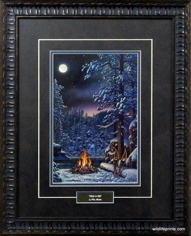 Kim Norlien Fire And Ice- Framed