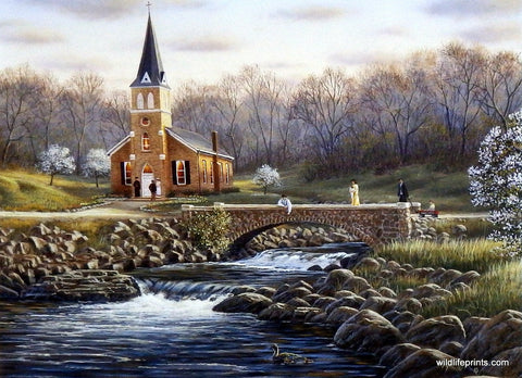 Rick Kelley Four Churches-Spring
