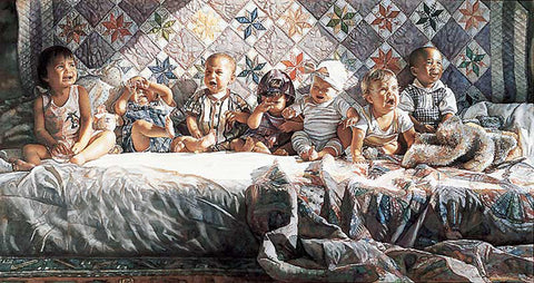 Steve Hanks All Gone Awry S/N Children's Art Print