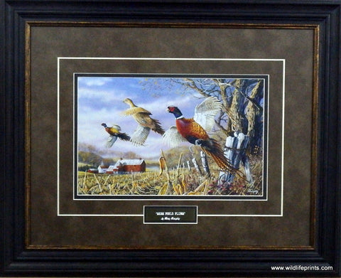 Terry Doughty High Field Flush- Framed