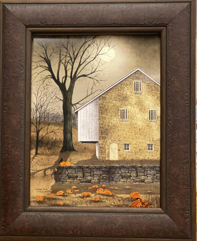 Billy Jacobs  Autumn Moon Country Art Print-Framed
