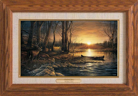 Terry Redlin Morning Glow Master Stroke Framed-FREE SHIPPING