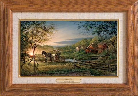 Terry Redlin Morning Rounds-Master Stroke Framed FREE SHIPPING