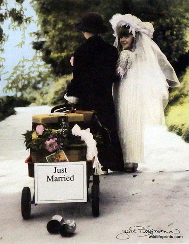 Julie Bergman New Beginnings-Just Married