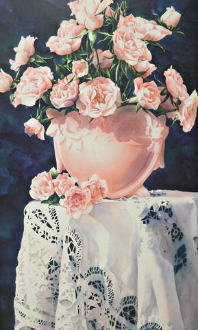 Arleta Pech Sweet Hearts Rose S/N Art Print