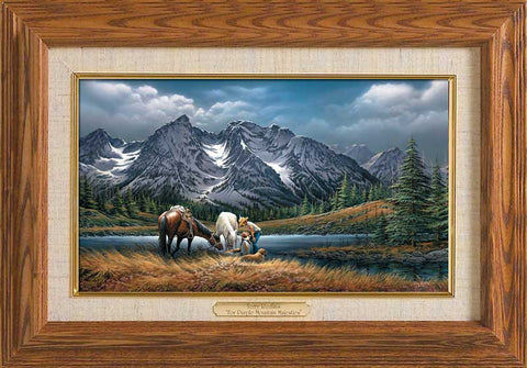 Terry Redlin For Purple Mountain Majesties Master Stroke-FREE SHIPPING