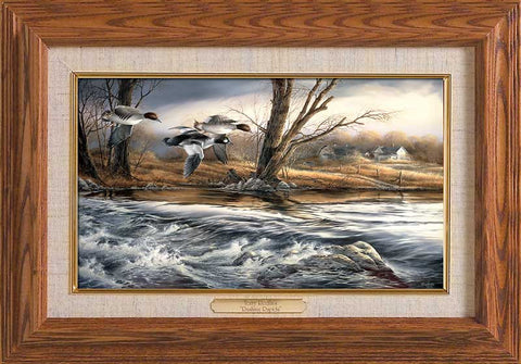Terry Redlin Rushing Rapids-Master Stroke-FREE SHIPPING