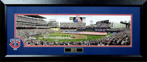 Minnesota Twins Opening Day at Target Field-Framed