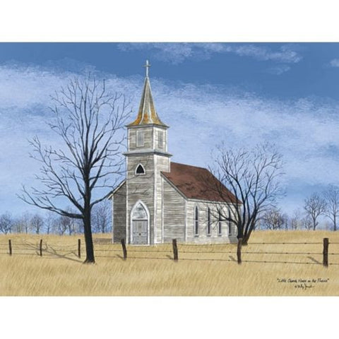 Billy Jacobs Little Church on the prairie Print