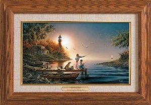 Terry Redlin From Sea to Shining Sea Framed Linen Master Stroke