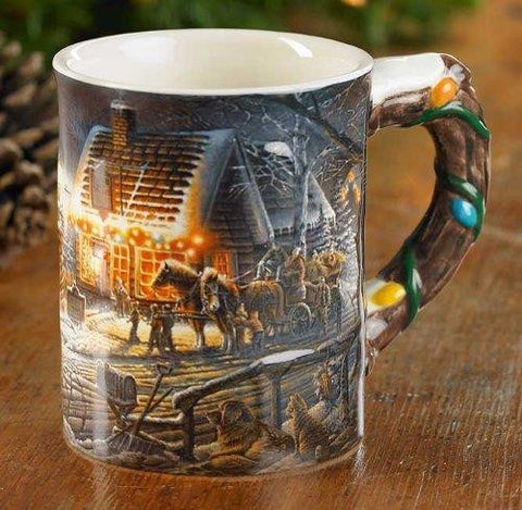 Terry Redlin Sweet Memories Sculpted Mug