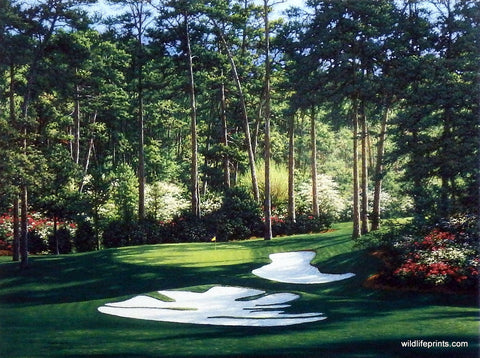 Larry Dyke The 10th at Augusta
