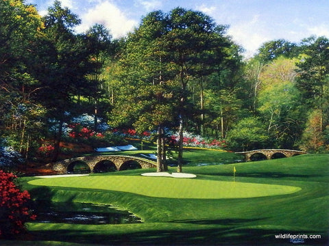 Larry Dyke The 11th at Augusta
