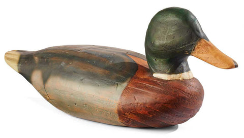 Greg Peltzer Mallard Duck Decoy