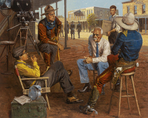 Andy Thomas Wyatt Earp In Hollywood