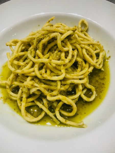 Spaghetti with Pesto all Genovese