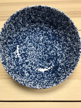 Load image into Gallery viewer, Ceramic Large Deep Bowl Blue Speckled 25cm - Tenuta Marmorelle