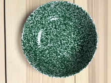 Load image into Gallery viewer, Ceramic Large Deep Bowl Green Speckled 25cm - Tenuta Marmorelle