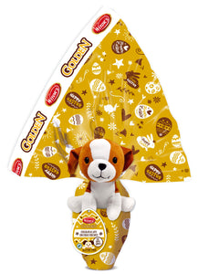 Golden Milk Chocolate with Crunchy Cereal Egg with Cuddly Toy Gluten Free 240g