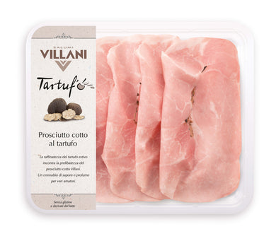 Gluten Free Villani Ham with Truffle Pieces in the centre 110g