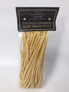 Caserecce Long Pasta Bronze Drawn and Handmade  500g - Tenuta Marmorelle