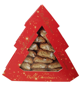 Cantucci in a Christmas Tree Shaped Box 150g