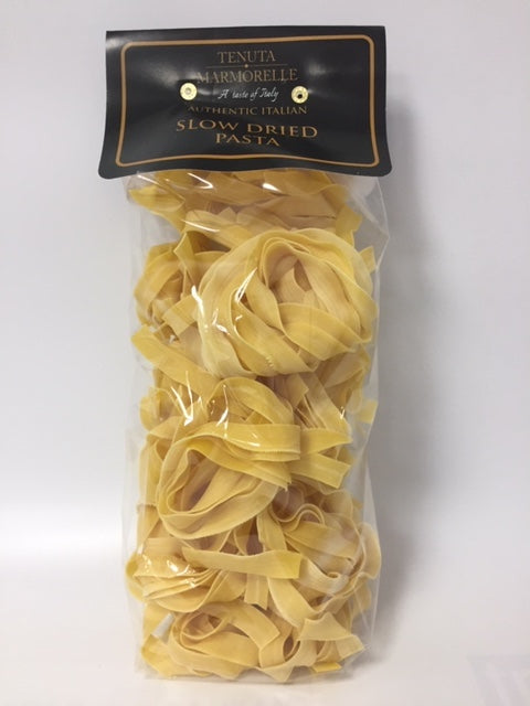Egg Pappardelle Pasta Bronze Drawn and Slow Dried 500g - Tenuta Marmorelle