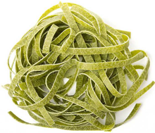 Load image into Gallery viewer, Green Taglioline Pasta Bronze Drawn 500g - Tenuta Marmorelle