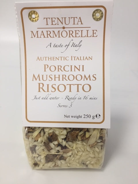 Risotto with Porcini Mushrooms - Tenuta Marmorelle