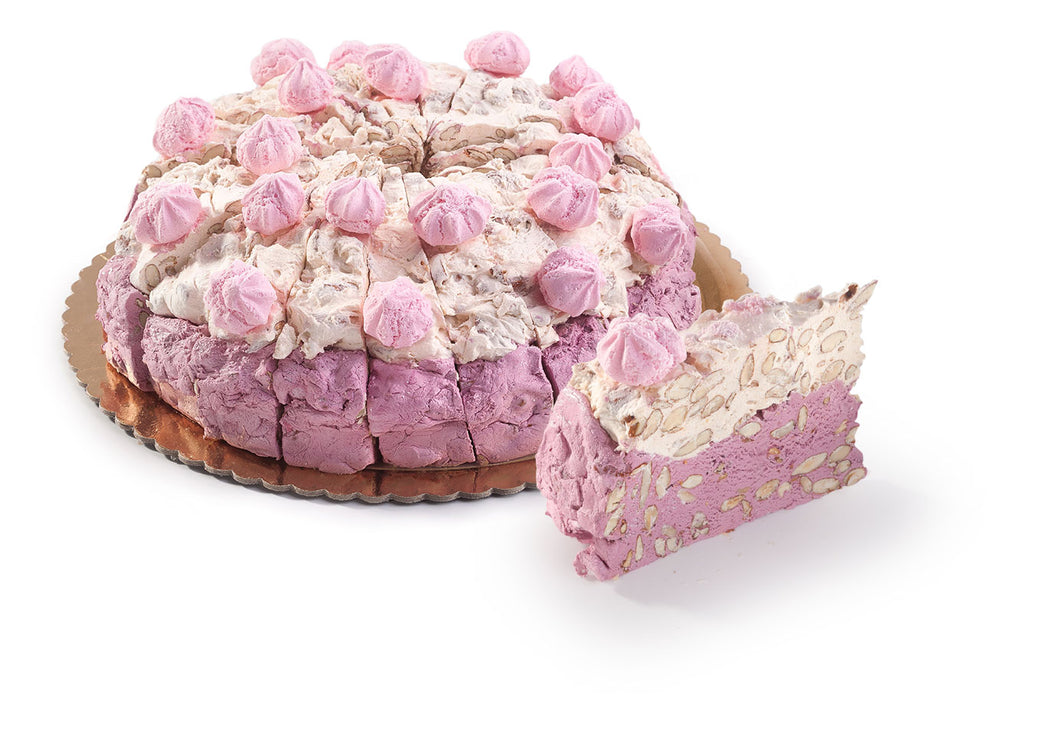 Tenuta Marmorelle Soft Strawberry and Cream Meringue Nougat Cake Slice 170g