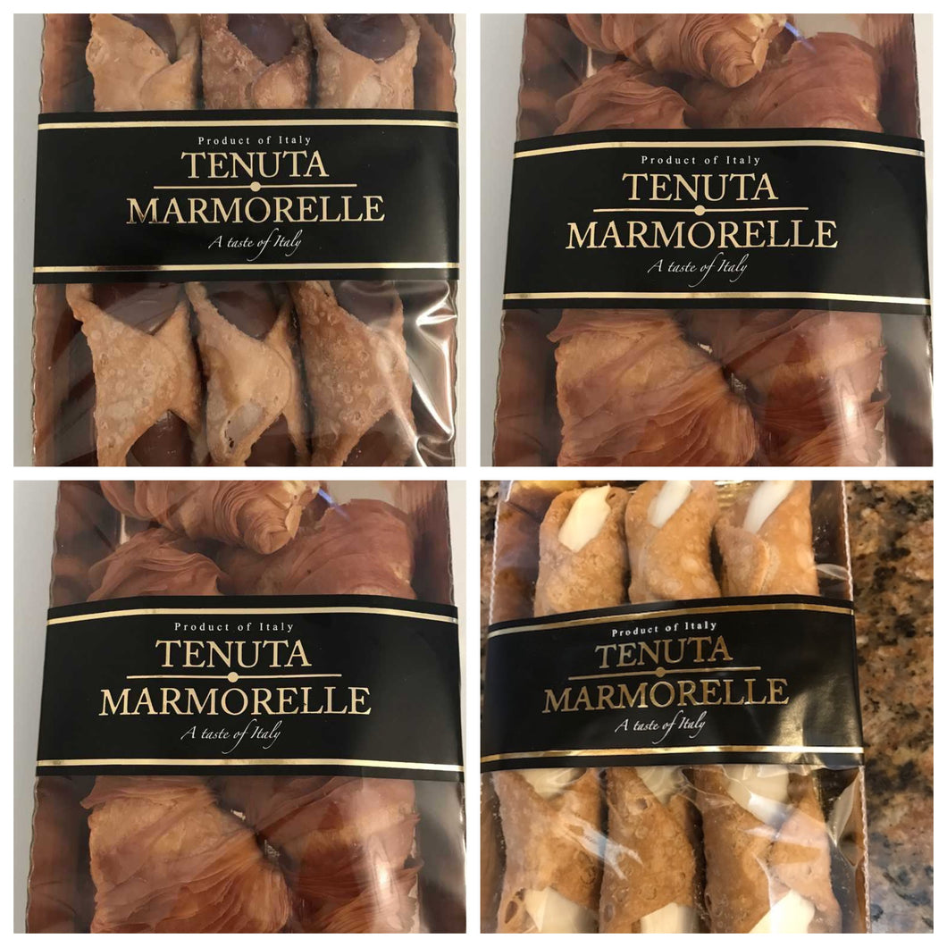 Cannoli & Lobster Tail Collection - Tenuta Marmorelle