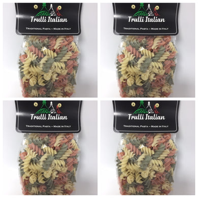 New Pasta Range Offer!!  4 x 500g Packs of Tricolore Fusillioni