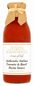 Pasta Sauces Authentic Italian Tomato and Basil 500g - Tenuta Marmorelle
