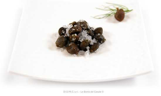Capers in Salt 212ml - Tenuta Marmorelle