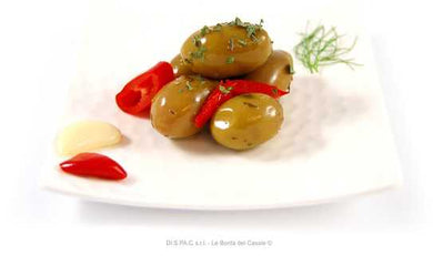 Crushed Green Olives with Herbs & Peppers 314ml