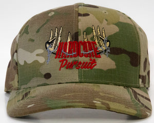 Hardcore Pursuit Military Green Snapback Hat